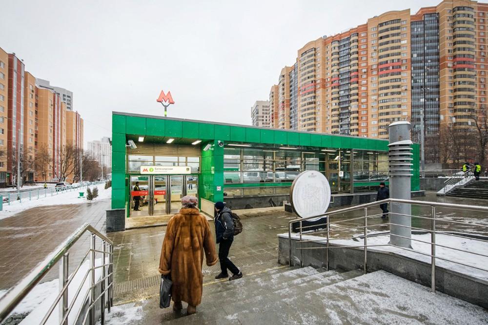 """Вестибюль станции метро """"Беломорская"""""""