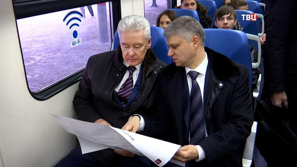 Сергей Собянин и Олег Белозёров