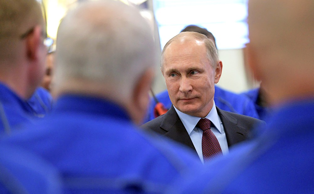 Владимир Путин встретился с энергетиками
