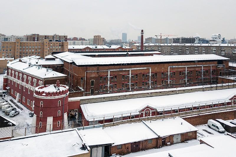Здание следственного изолятора № 2 Бутырская тюрьма в Тверском районе Москвы