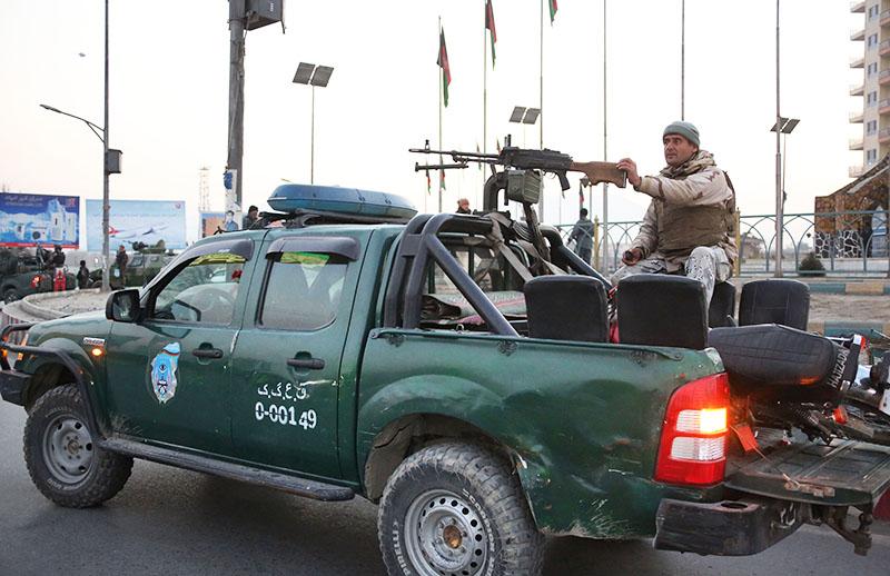 Военная полиция Афганистана в Кабуле