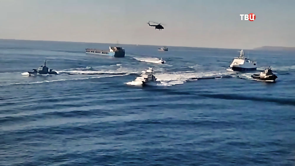 Провокация Украины в Керченском проливе