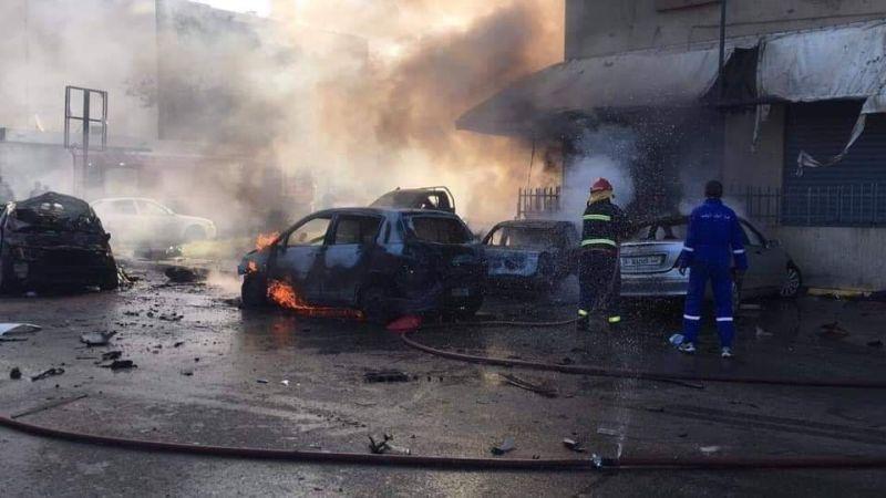 Последствия теракта в Триполи