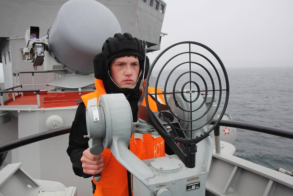 Служба на корабле ВМФ России
