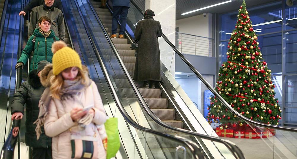 Украиншение метро к новому году