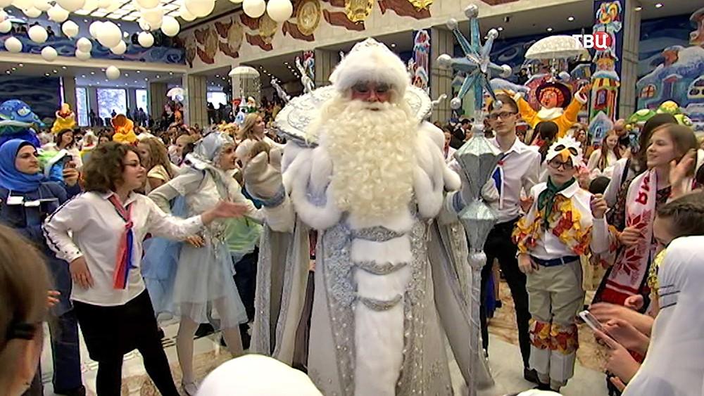 Дед Мороз на Кремлевской елке