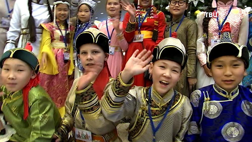 Дети на Кремлевской елке