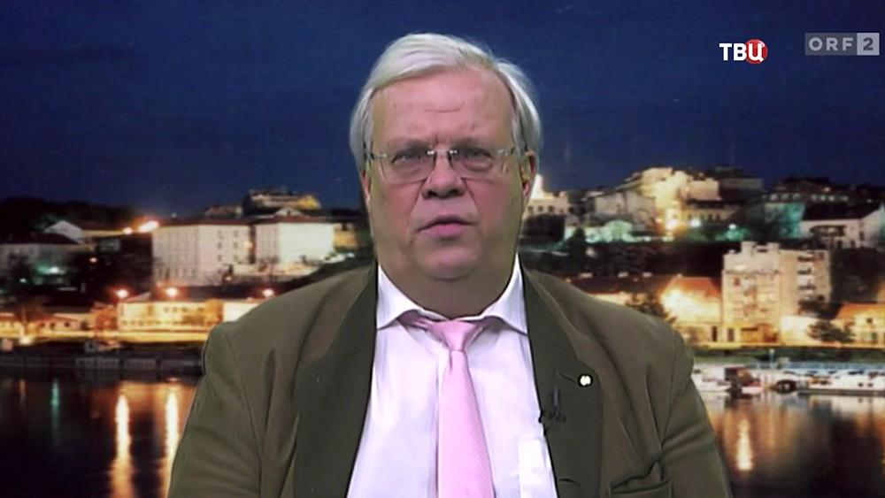 Австрийский журналист Кристиан Вершюц
