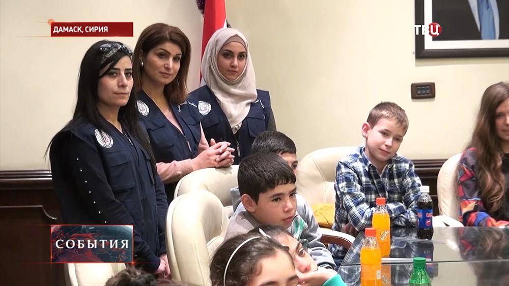 Благотворительная акция для детей Сирии