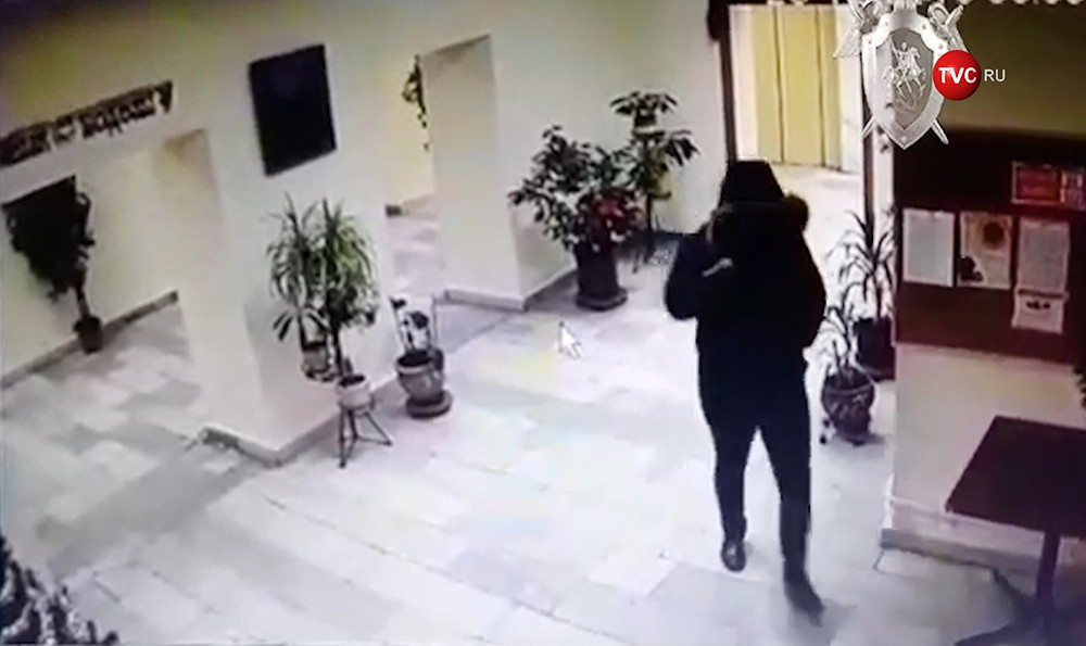 """Момент убийства учредителя компании """"Мастер-нефть"""" Шалвы Шаляхова"""