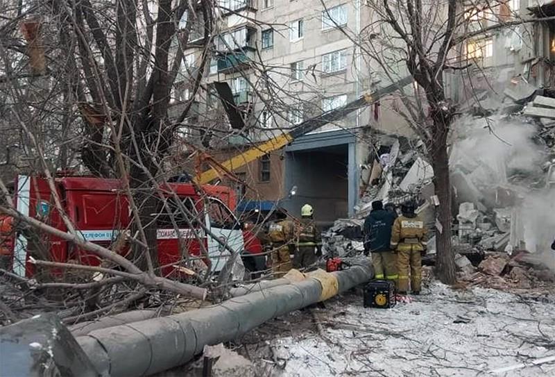 Взрыв бытового газа в жилом доме в Магнитогорске