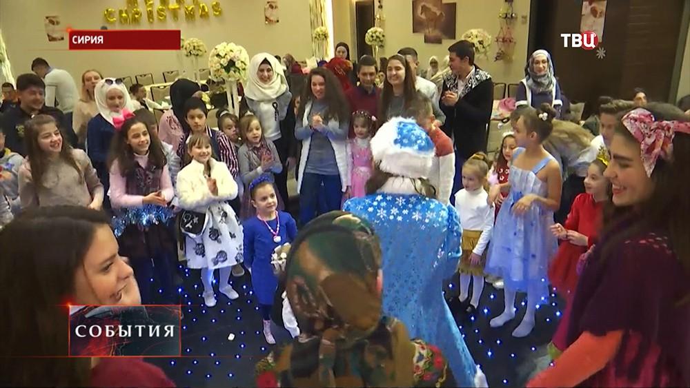 Празднование Нового года в Сирии