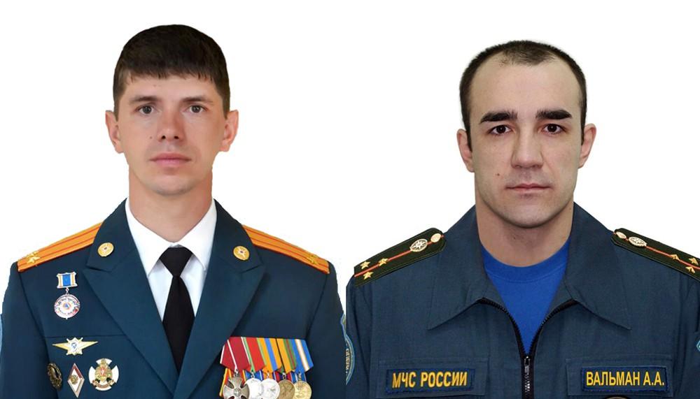 Сотрудники МЧС, спасшие младенца в Магнитогорске, —  Петр Гриценко и Андрей Вальман