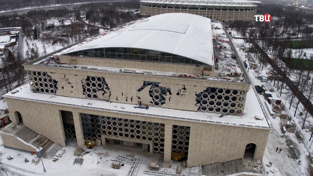"""Реконструкция плавательного центра в олимпийском комплексе """"Лужники"""""""