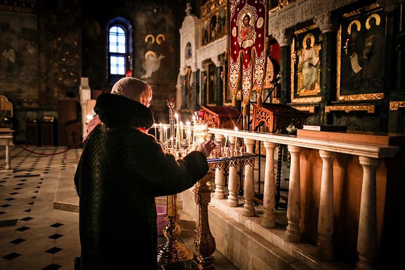 Верующие на Украине