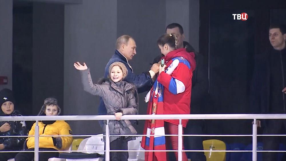 Путин пообещал девочке из Сочи исполнить ее заветную мечту