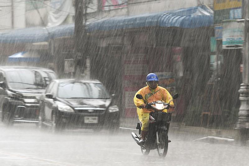 Сильный дождь в Таиланде