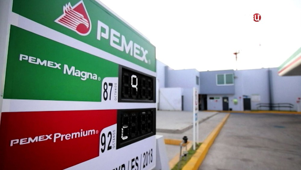 АЗС в Мексике