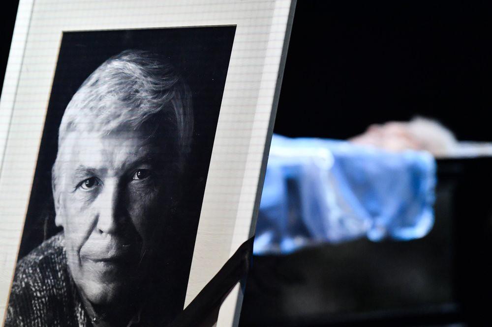 Церемония прощания с народным артистом России Иваном Бортником