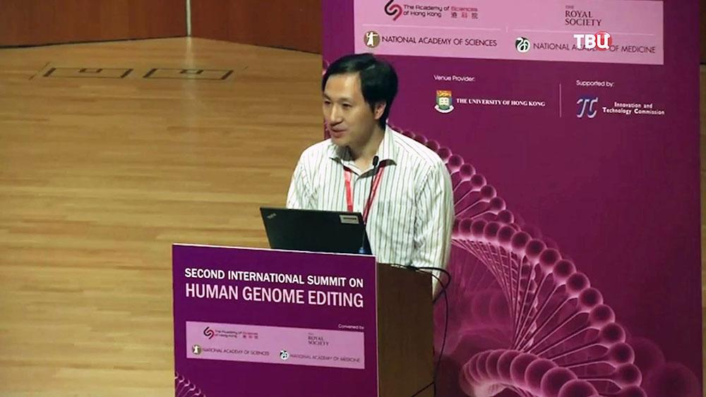 Китайский ученый Хэ Цзянь-куй
