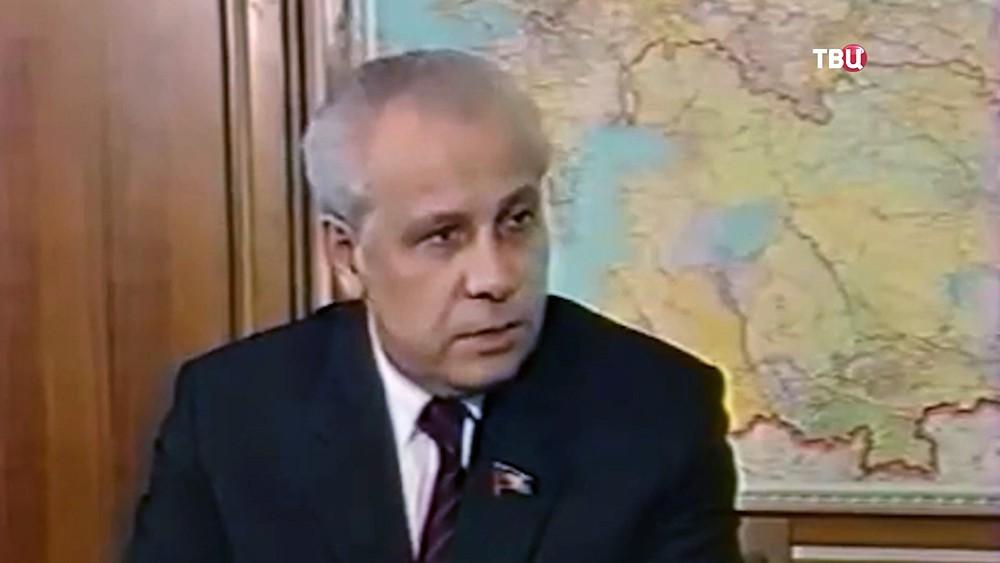 Председатель Верховного Совета СССР Анатолий Иванович Лукъянов
