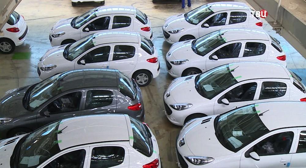 Линия сборки легковых автомобилей в Сирии