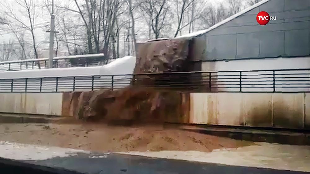 Затопление Тушинского тоннеля
