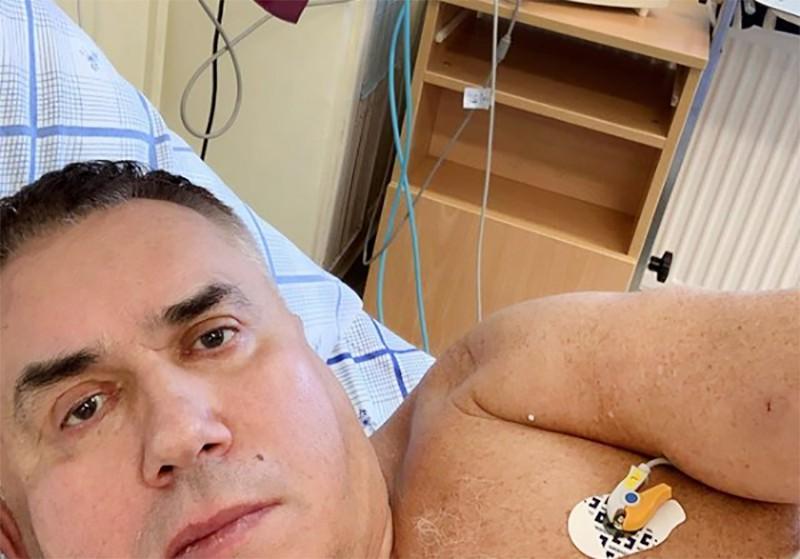 Станислав Садальский в больнице