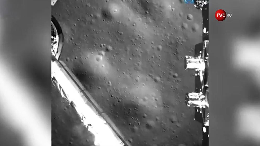 """Посадка китайского зонда """"Чанъэ-4"""" на обратной стороны Луны"""