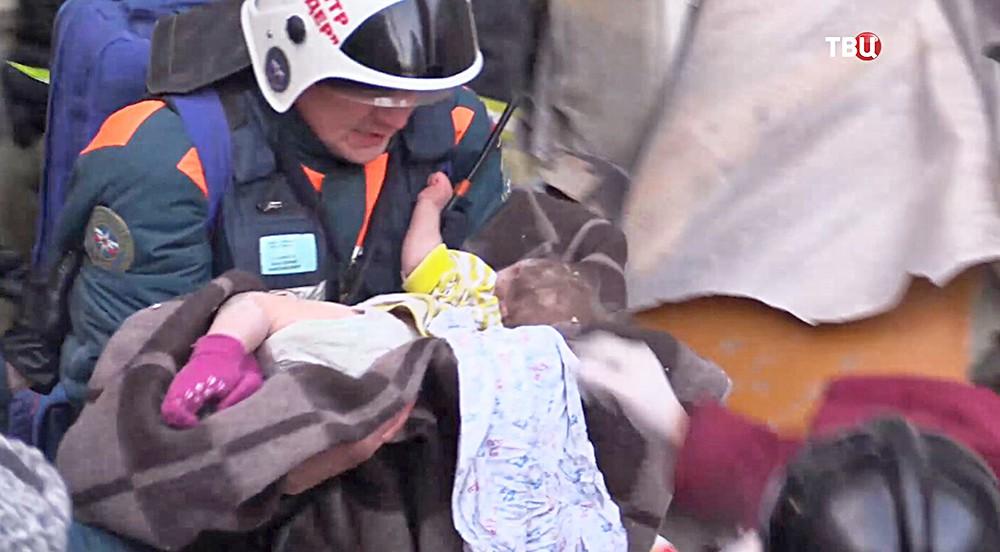Спасение мальчика в Магнитогорске