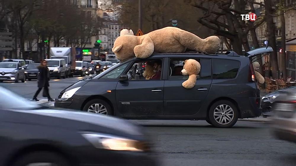 Нашествие медведей в Париже