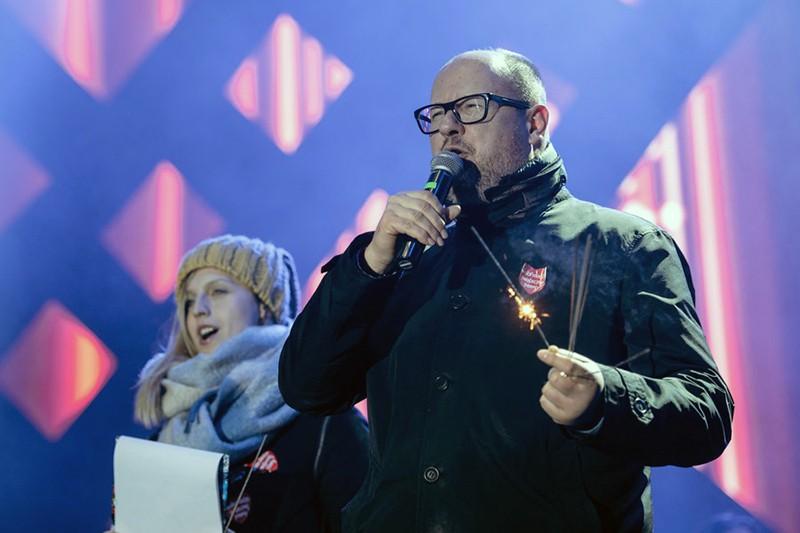 Мэр Гданьска Павел Адамович