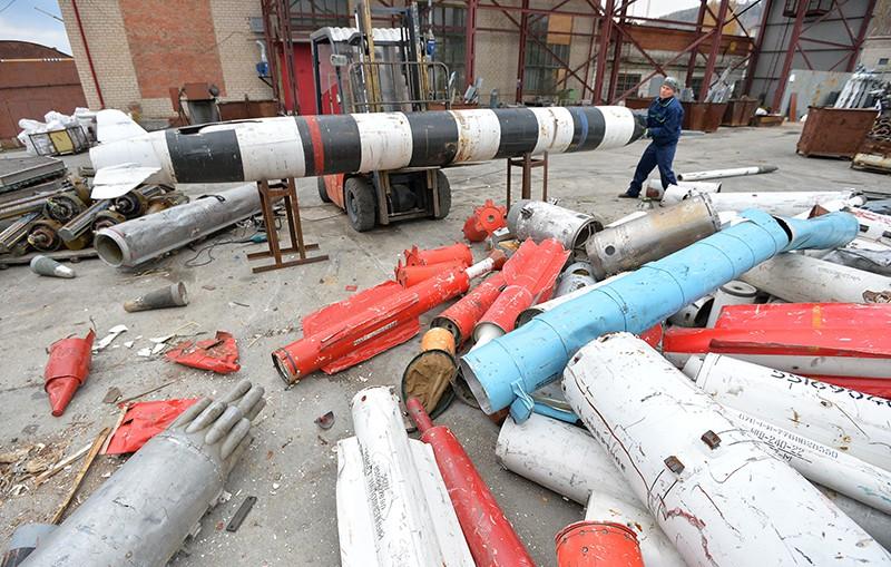 Утилизации крылатых ракет