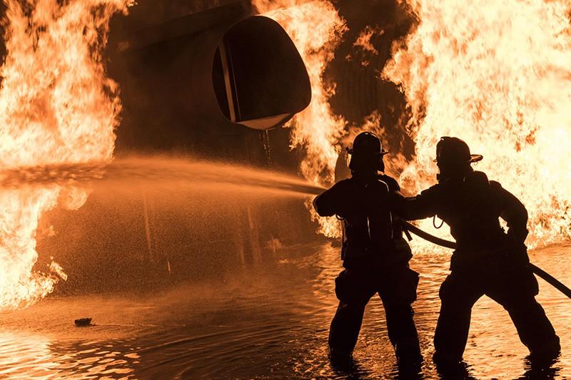 Пожарные Тбилиси