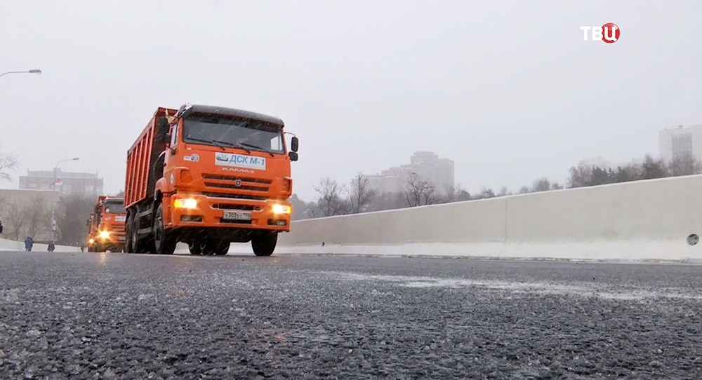 Новая эстакада на Волоколамском шоссе