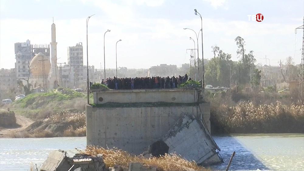 Россия поможет сирийцам переправиться через Евфрат