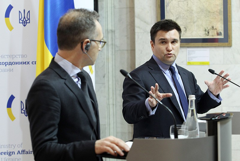 Хайко Маас и Павел Климкин