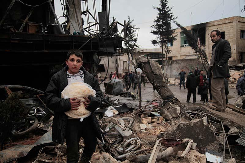 В Сирии растет число жертв авиаудара западной коалиции