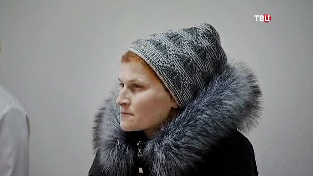 Татьяна Гринишак, бросившая своего ребенка в подъезде