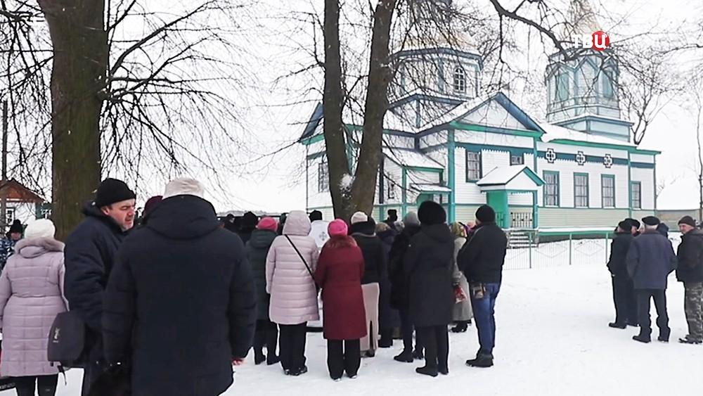Рейдовский захват церквей на Украине