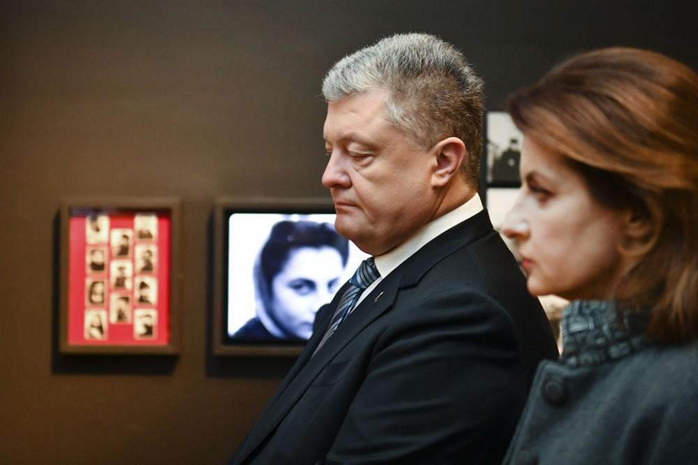 Пётр Порошенко с женой