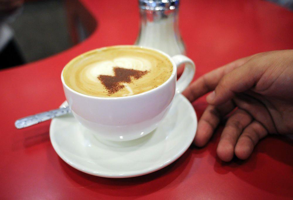 Кофе в метро