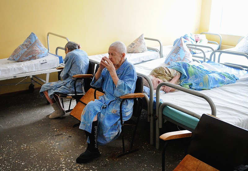 Пожилые пациенты в больнице