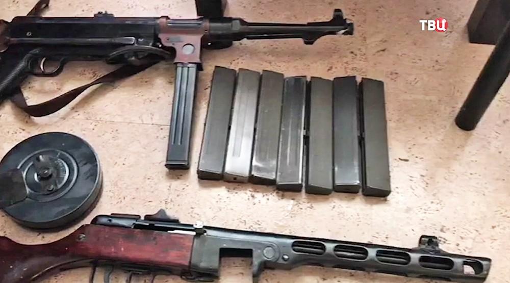 Подпольная мастерская по изготовлению оружия и боеприпасов