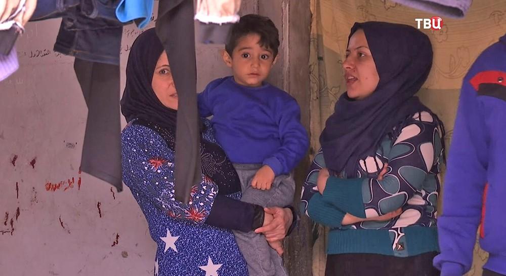 Житель Сирии