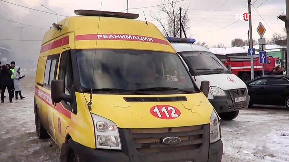 Машины скорой помощи в Иркутске