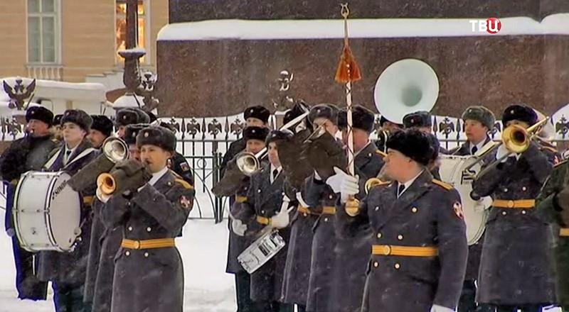 Генеральная репетиция Парада на Дворцовой площади