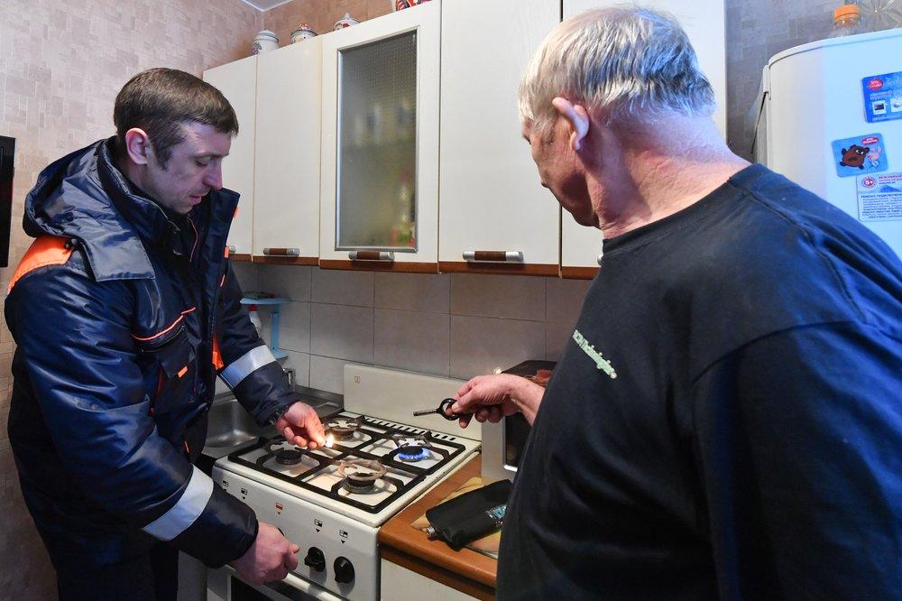 Внеплановая проверка газового оборудования в домах