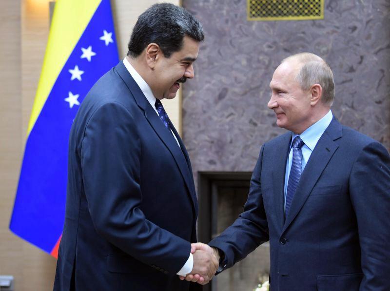 Владимир Путин Николас Мадуро