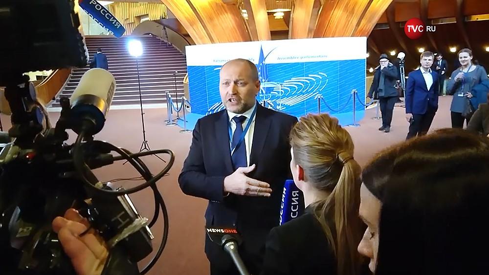 Депутат Верховной Рады Украины Борислав Береза оскорбил российскую журналистку Ольгу Скабееву